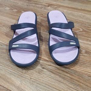 Like New Women's Crocs Sandals